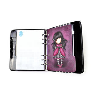 The Hatter - Gorjuss Stripes PVC Organiser Journal Thumbnail 4