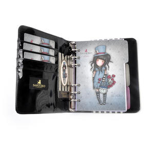 The Hatter - Gorjuss Stripes PVC Organiser Journal Thumbnail 6