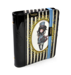 The Hatter - Gorjuss Stripes PVC Organiser Journal Thumbnail 7