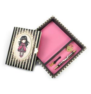Ladybird - Gorjuss Stripes Lockable Notebook Thumbnail 2