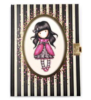 Ladybird - Gorjuss Stripes Lockable Notebook Thumbnail 4