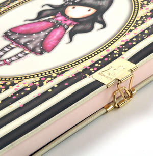 Ladybird - Gorjuss Stripes Lockable Notebook Thumbnail 5