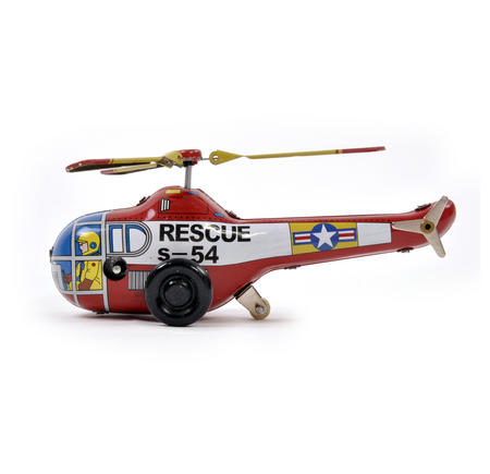 Helicopter - Classic Clockwork Collector's Toy