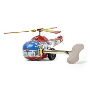 Helicopter - Classic Clockwork Collector's Toy Thumbnail 2