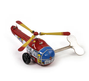 Helicopter - Classic Clockwork Collector's Toy Thumbnail 4