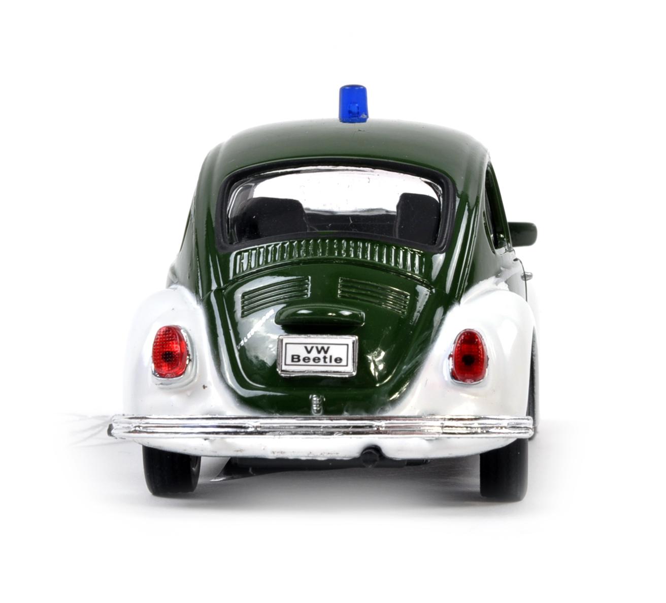 Volkswagen Beetle - Green Polizei German Model Police Car | Pink Cat Shop