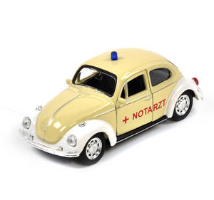 Volkswagen Beetle - Cream Notarzt German Model Ambulance Thumbnail 3