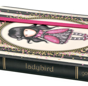 Ladybird - Gorjuss Stripes A6 Foiled Notebook Thumbnail 3