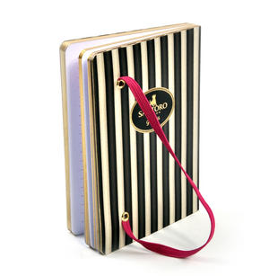Ladybird - Gorjuss Stripes A6 Foiled Notebook Thumbnail 4