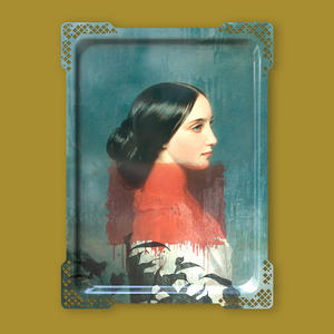 Ida Variations Number One - Galerie De Portraits - Surreal Wall Tray Art Masterwork by iBride Thumbnail 3