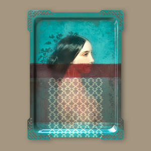 Ida Variations Number Six - Galerie De Portraits - Surreal Wall Tray Art Masterwork by iBride Thumbnail 3