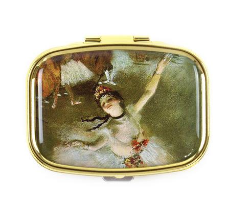 Edgar Degas Ballerina Pill Box