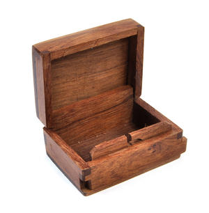 Hare Secret Marquetry Stash Box with Invisible Opening System 8 x 6 cm Thumbnail 4