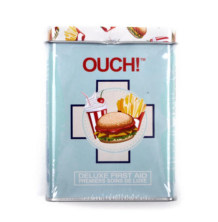 Fast Food - First Aid In A Tin - Plasters / Band Aids