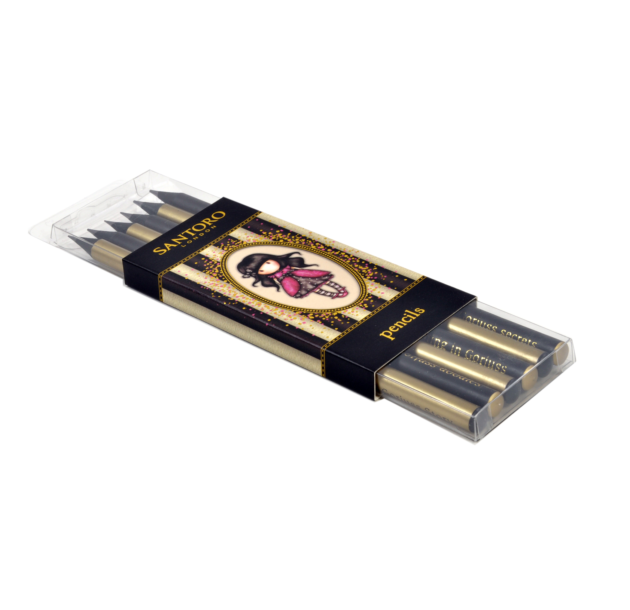 Gorjuss Ladybird Pencil Set