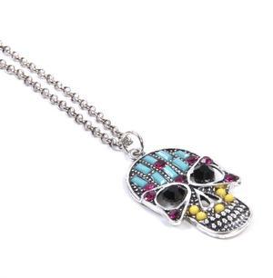 Sugar Skull Necklace - Random Colour Thumbnail 3