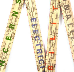 The Inventions Rule 1800 -2000 Technology By the Meter Folding Ruler Thumbnail 2