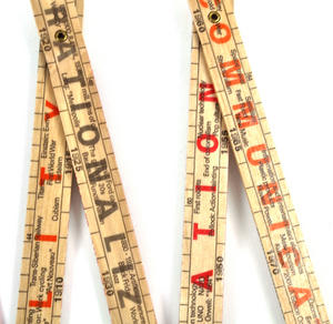 The Inventions Rule 1800 -2000 Technology By the Meter Folding Ruler Thumbnail 3