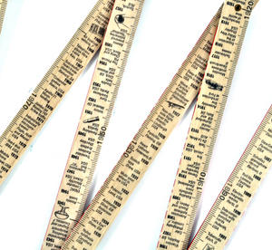 The Inventions Rule 1800 -2000 Technology By the Meter Folding Ruler Thumbnail 6