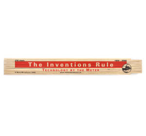 The Inventions Rule 1800 -2000 Technology By the Meter Folding Ruler Thumbnail 7