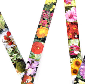 Flower Folding Ruler - The Garden's Four Seasons Thumbnail 3