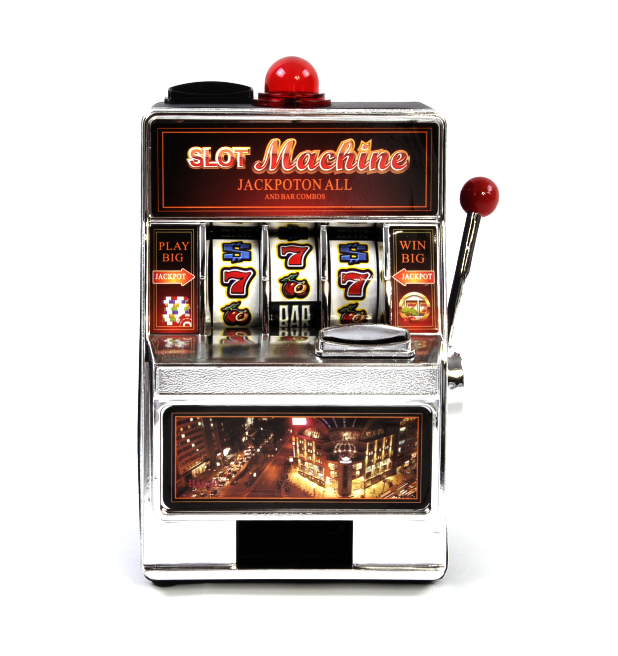 Bar e slot machine pro rata