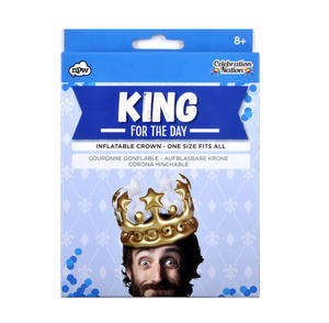 King For a Day - Inflatable Crown Thumbnail 1