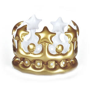 King For a Day - Inflatable Crown Thumbnail 2