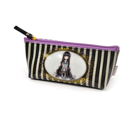 Rosebud Accessory Case - Gorjuss Stripes
