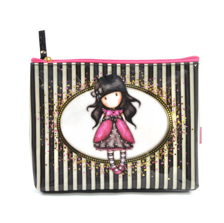 Ladybird Large Accessory Case - Gorjuss Stripes