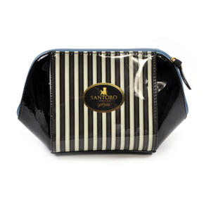 The Hatter Large Structured Accessory Case - Gorjuss Stripes Thumbnail 3