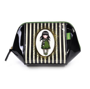 The Scarf Large Structured Accessory Case - Gorjuss Stripes