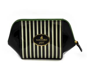 The Scarf Large Structured Accessory Case - Gorjuss Stripes Thumbnail 4