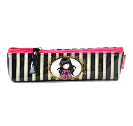 Ladybird Slim Accessory / Pencil Case - Gorjuss Stripes