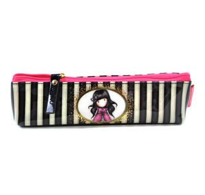 Ladybird Slim Accessory / Pencil Case - Gorjuss Stripes Thumbnail 1