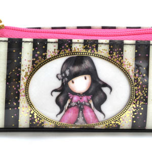 Ladybird Slim Accessory / Pencil Case - Gorjuss Stripes Thumbnail 2
