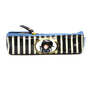The Hatter Slim Accessory / Pencil Case - Gorjuss Stripes