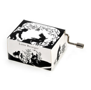 Lotte Reiniger Silhouette Filmmaker Music Box - Sleeping Beauty / Dornröschen