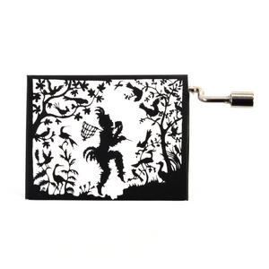 Lotte Reiniger Silhouette Filmmaker Music Box - Mozart's Magic Flute / Zauberflöte - Papageno Thumbnail 3