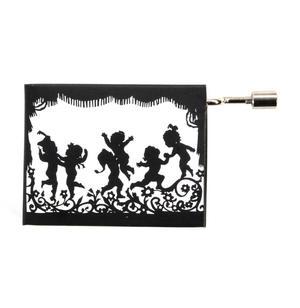 Lotte Reiniger Silhouette Filmmaker Music Box - Mozart's Lullaby / Wiegenlied - Angel / Engel Thumbnail 2
