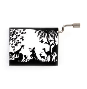 Lotte Reiniger Silhouette Filmmaker Music Box - Mozart's Lullaby / Wiegenlied - Tamino Thumbnail 2