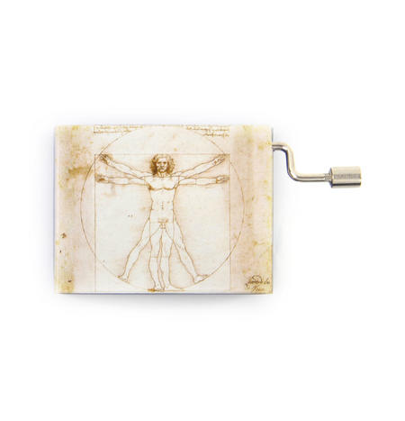 """Art Music Box - Leonardo Da Vinci """"Divine Proportions"""" & Beethoven """"Für Elise"""" / """"For Elise"""""""
