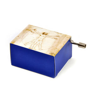 "Art Music Box - Leonardo Da Vinci ""Divine Proportions"" & Beethoven ""Für Elise"" / ""For Elise"" Thumbnail 2"