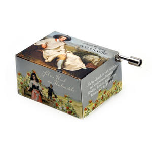 "Art Music Box - Johann Wolfgang Von Goethe ""Sah ein Knab ein Röslein stehen"" / ""Heideröslein"" (""Rose on the Heath"") Thumbnail 2"