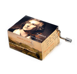 "Art Music Box - Frederich Schiller ""Ode an die Freude"" / Beethoven ""Song of Joy"" Thumbnail 2"