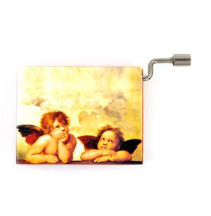 "Art Music Box - Raphael ""Madonna Sistine"" & Bach /Gounod ""Ave Maria"""