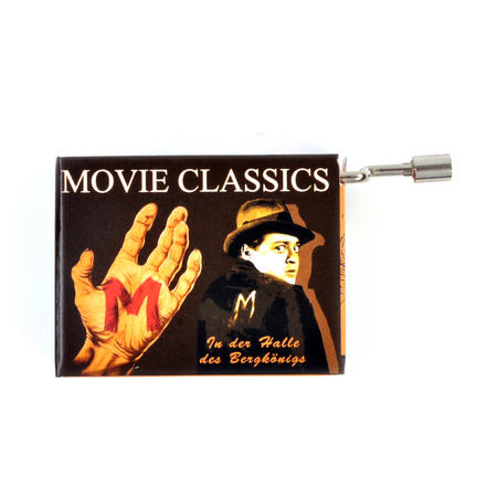 "Fritz Lang's ""M"" / Grieg ""In the Hall of the Mountain King"" - Movie Classic Music Box"
