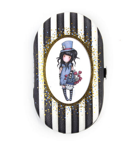 The Hatter Manicure Set Gorjuss Stripes