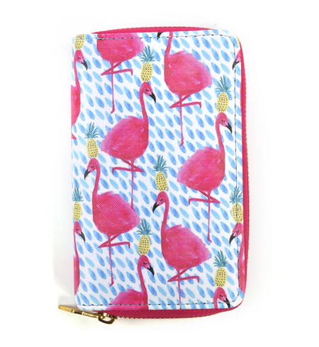 Pink Flamingos Wallet