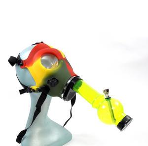 Rasta Gas Mask Bong Thumbnail 2